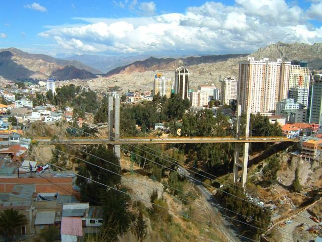Ла Пас – самая высокогорная столица мира
