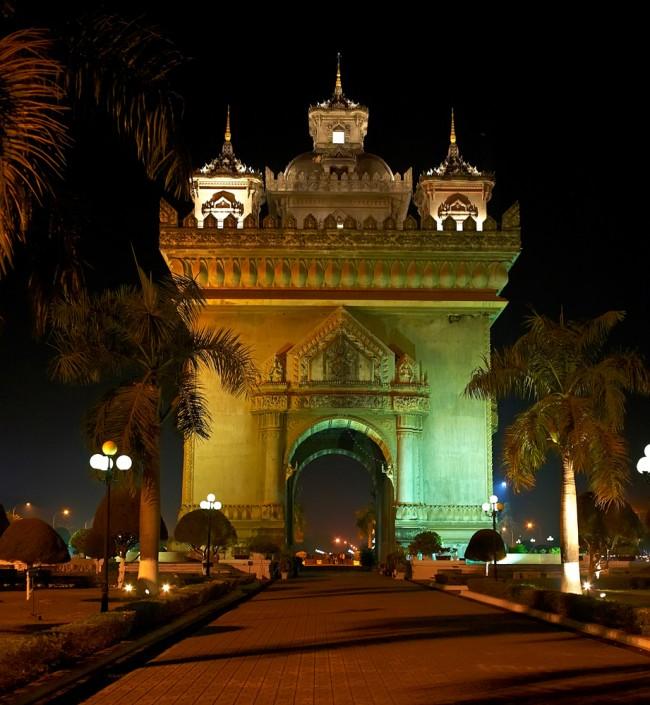 Вьентьян – наибольшее поселение в Азии