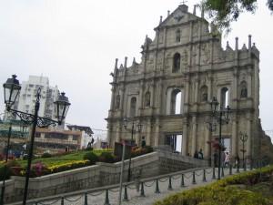 Макао – рубеж западноевропейской и азиатской культур