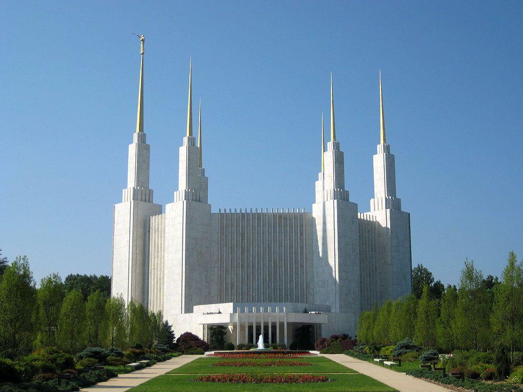 Калифорнийский храм мормонов