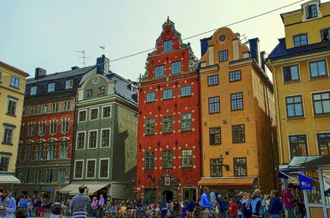 Стокгольм – город островов и мостов