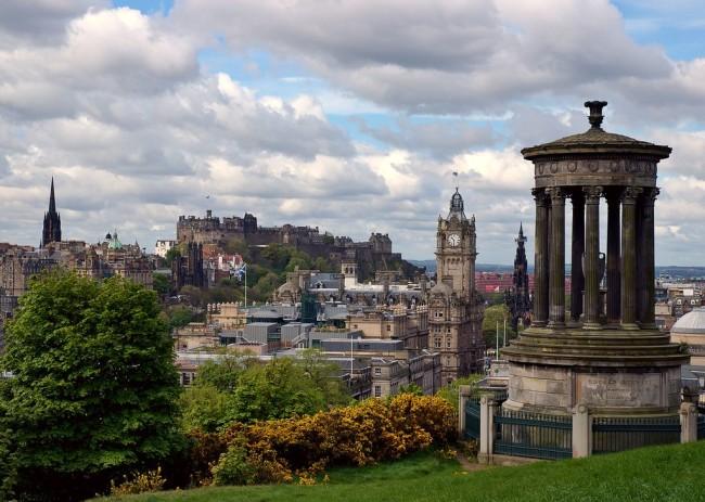 Эдинбург – город замков и легенд