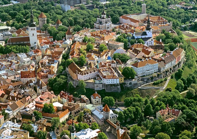 Таллин – прибалтийский город с памятью о Средневековье