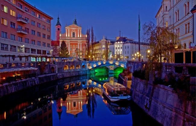 Любляна – город драконов