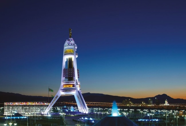 Ашхабад – беломраморная столица