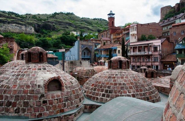Тбилиси – город теплых ключей