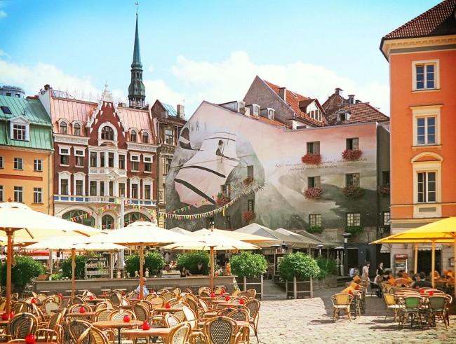 Рига – архитектурное сокровище Европы