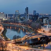 Вильнюс – наибольший культурный центр Старого света